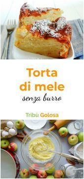 Photo of La RICETTA della TORTA con TANTISSIME MELE a fettine, che pr…-