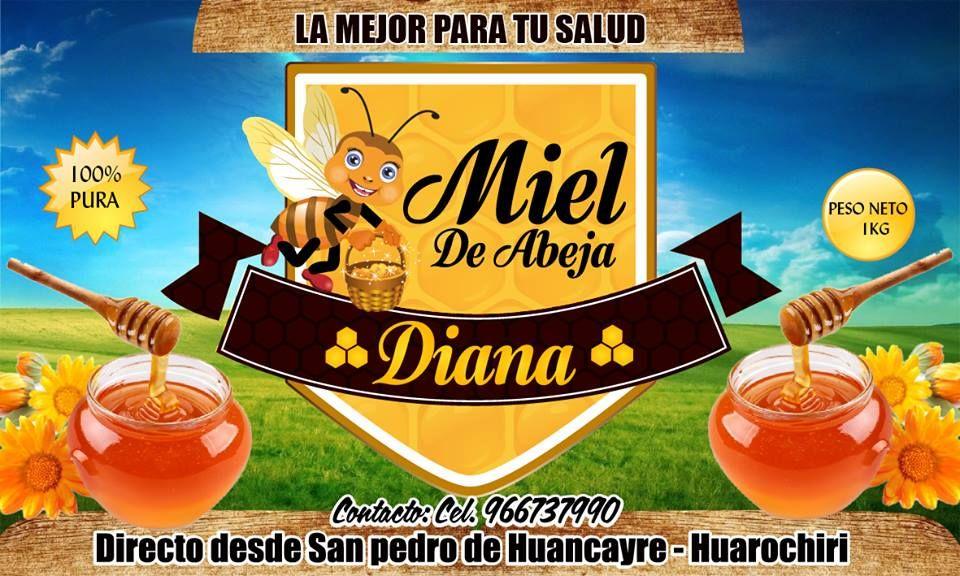 Etiqueta Miel de Abeja | etiquetas | Pinterest | Etiqueta miel, Miel ...