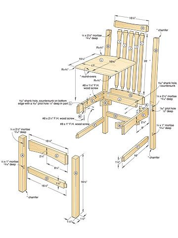 Dining Chair Woodworking Plan Seats Wood Seats Woodworking