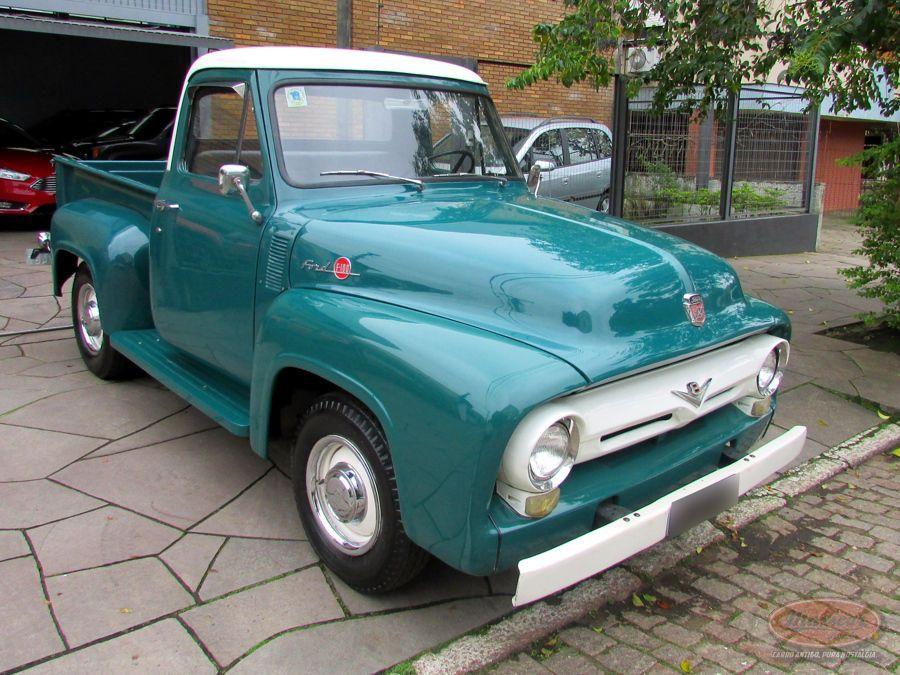 Ford F100 1958 F100 Ford Motor V8