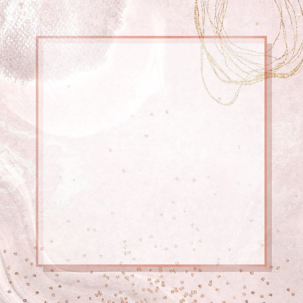 Download Premium Illustration Of Square Frame On Neo Memphis Social Square Frames Vector Business Card Frame