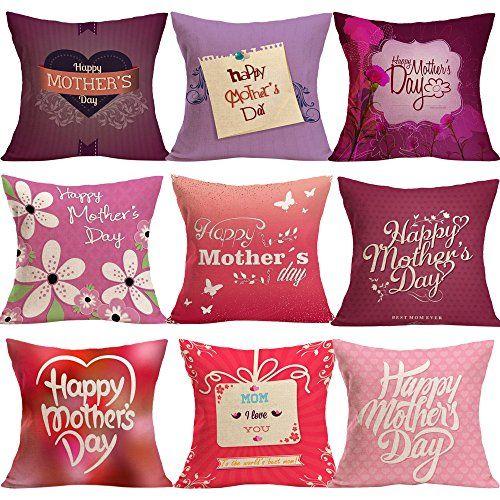 Scandinavian Decorideas: LUNIWEI Happy Mothers Day Pillow Case Bed Sofa Cushion