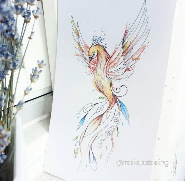 200+ Tatuagens de Fenix (2020) Masculina Feminina