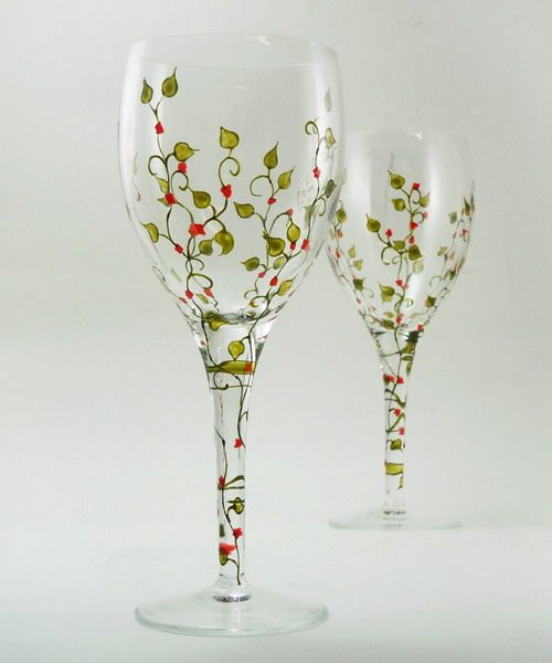 Wine Glass Painting Designs | ... design-remont.info/2011/06/03/wine-glass-painting-inspiration-1issue