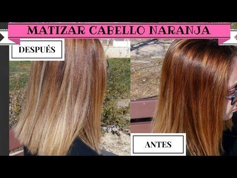 Peregrino Helecho Bombero  Matizar cabello naranja | Sandranewlook - YouTube | Cabello anaranjado,  Matizador de cabello, El pelo súper largo