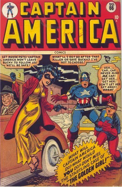 captain america comic 66 - Google Search