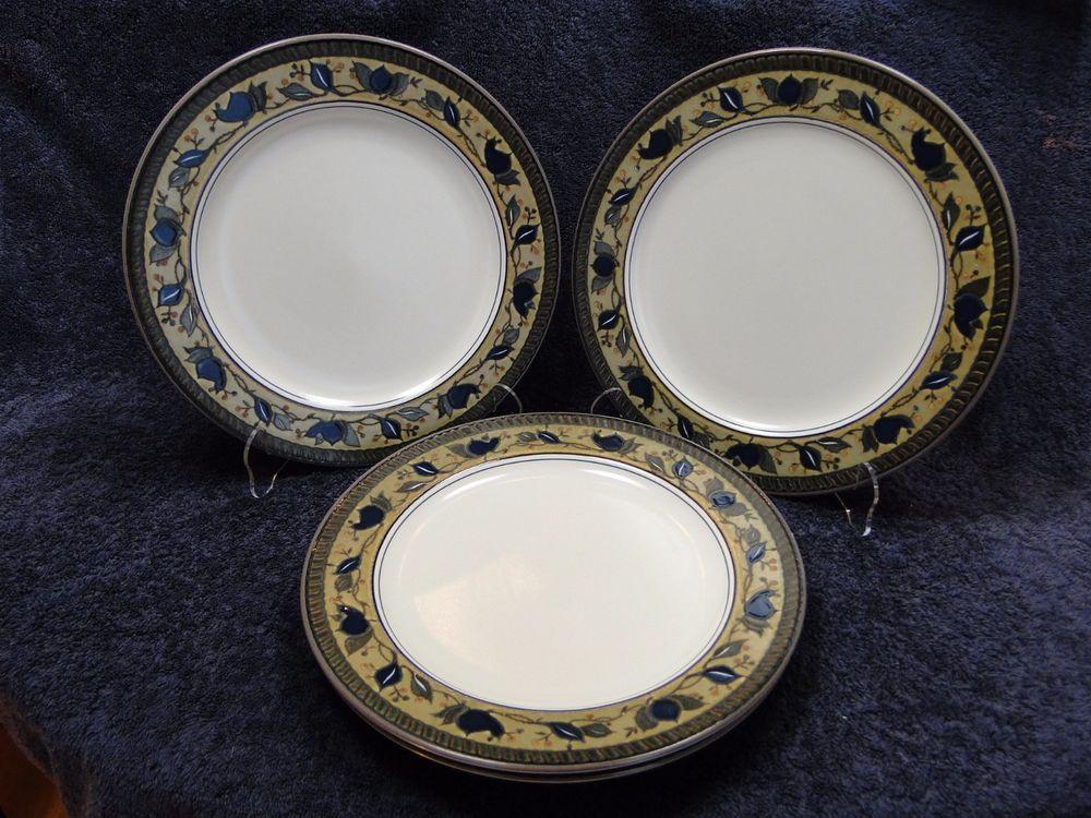 Mikasa Arabella Dinner Plates 11 1/8\