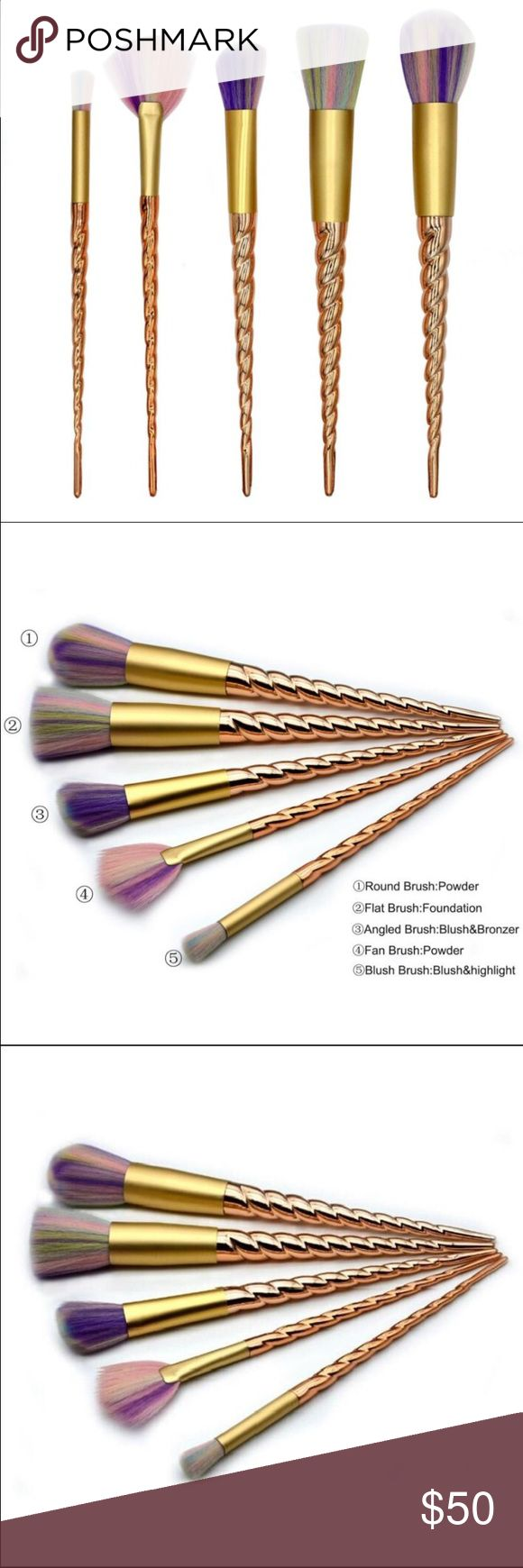 unicorn Goldie brush set unicorn Goldie brush set coming