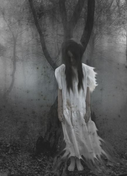 I stand like stone to hear the wind's eerie.  Now my mind is weak and my soul grows weary. I feel Her fingers in my spine edging me ever-closer toward Despair's Concubine.