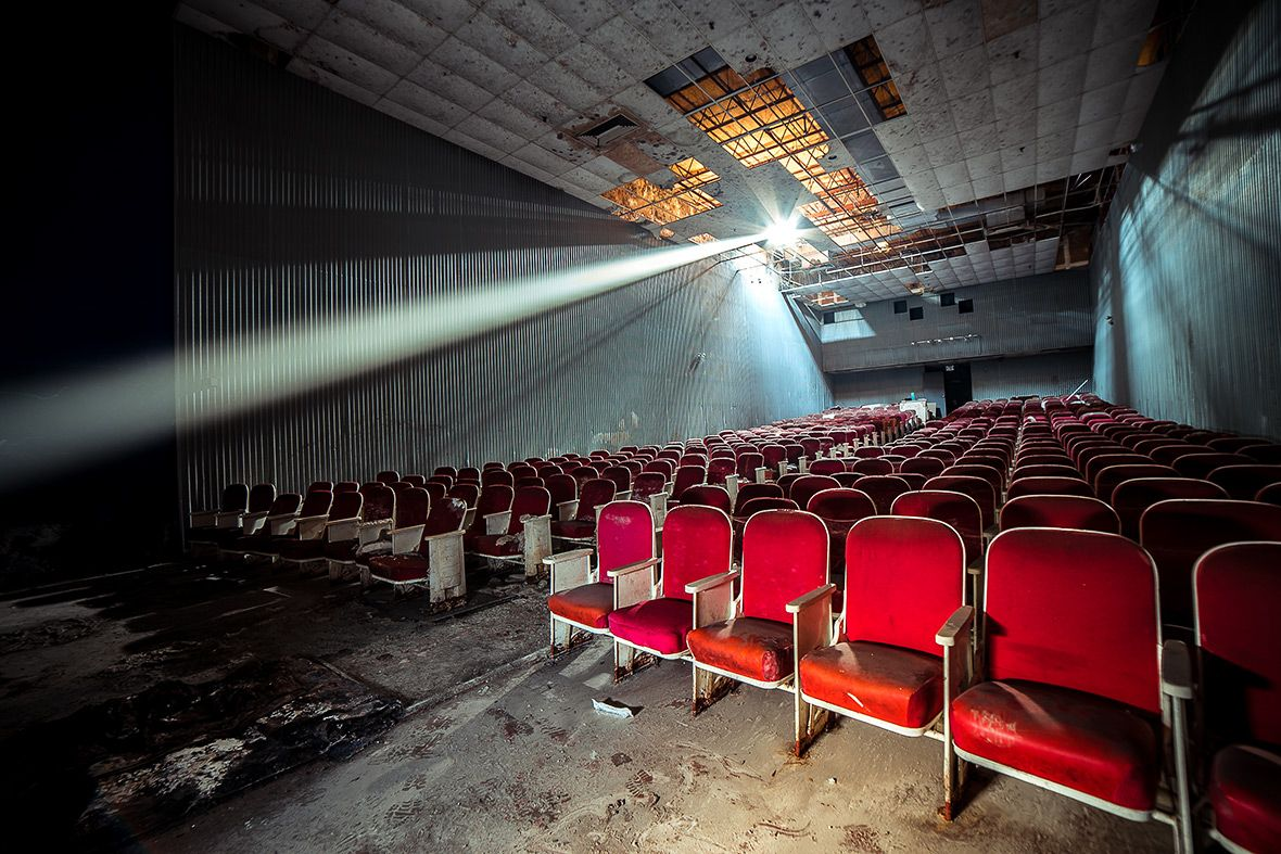 Image result for abandoned CINEMA