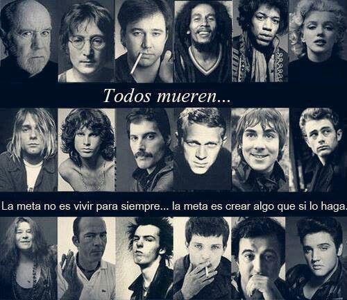 Todos mueren...