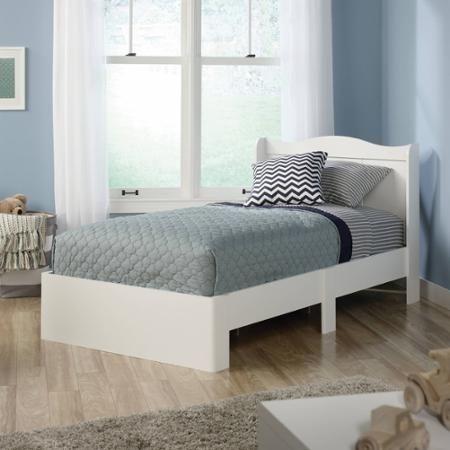 Sauder Storybook Twin Mates Bed, Soft White - Walmart.com ...