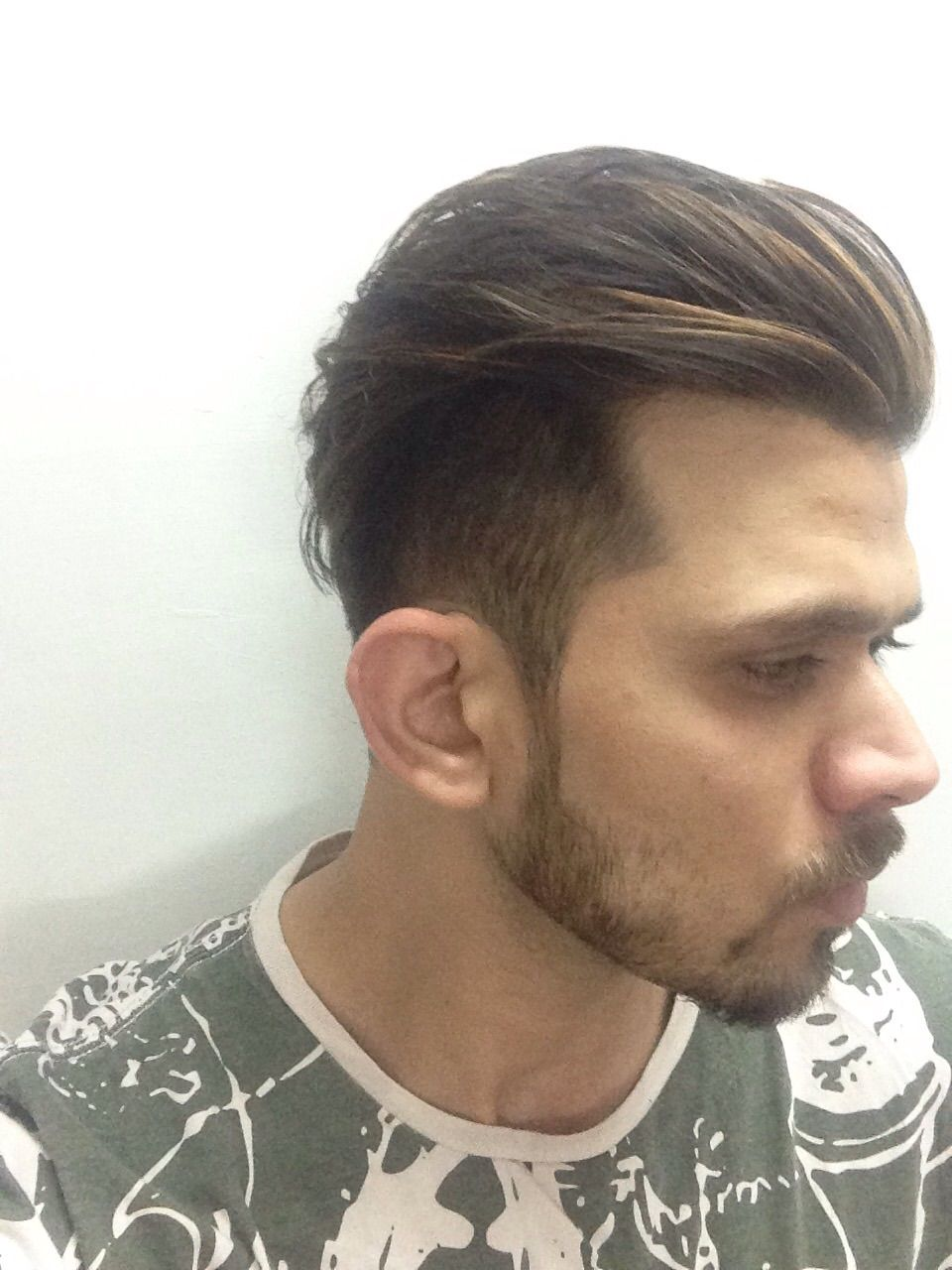 Undercut 2015 Keeping The Sides And Front Short And Middle Part Longer To Make It Fall Perfectly Behind