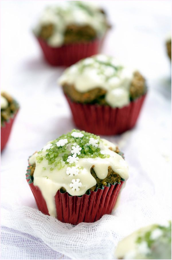 spiced carrot cupcake