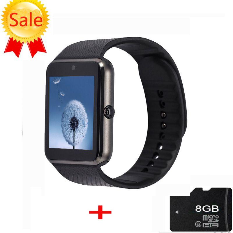 Smart Uhr Mit Sim Einbauschlitz Push-nachricht MP3 Bluetooth GT08 Smartwatch für Android Telefon PK gv18 DZ09 u8 Q18 Tragbare Geräte //Price: $US $19.69 & FREE Shipping //     #smartwatches