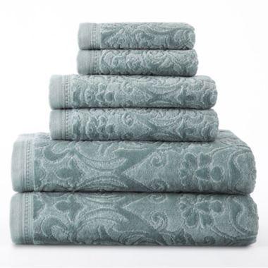 Royal Velvet® Sculpted Bath Towels