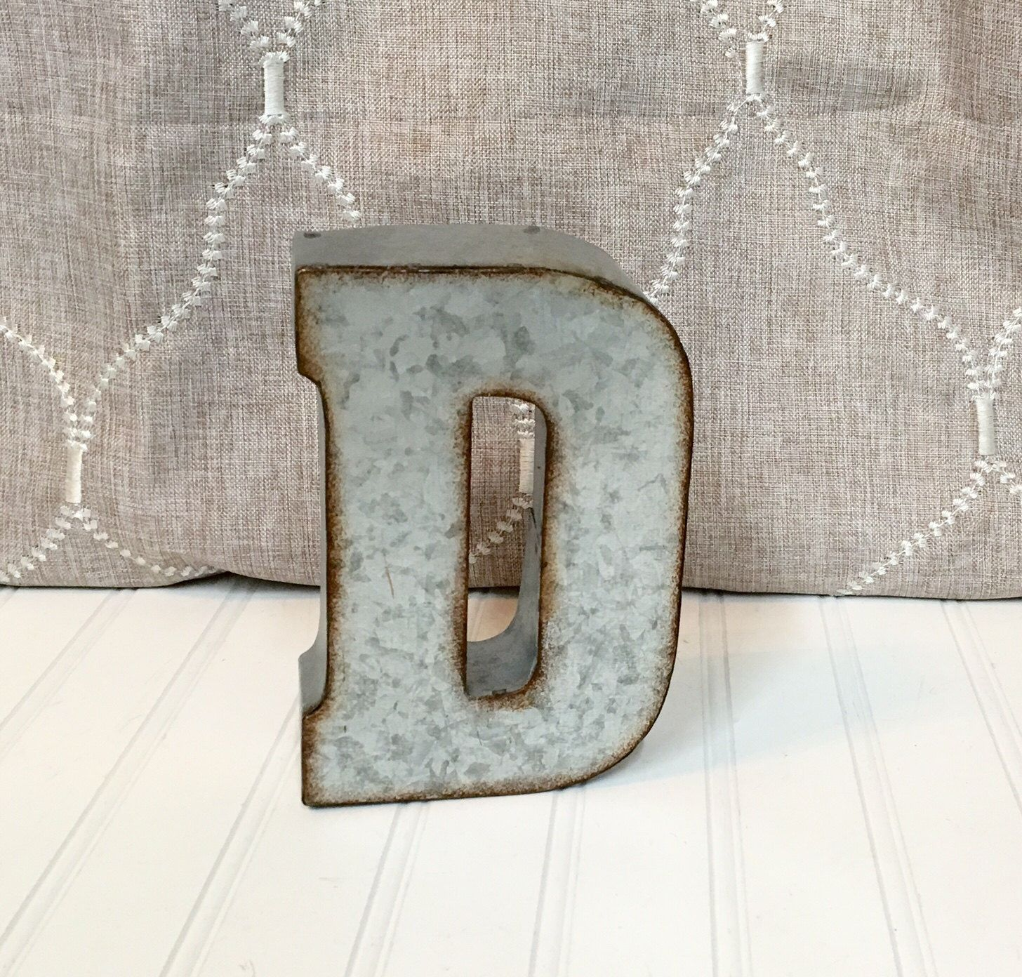 Small Rustic Metal Letters Metal Lettersmetal Letterletter D7 Inch Letterwall Letter