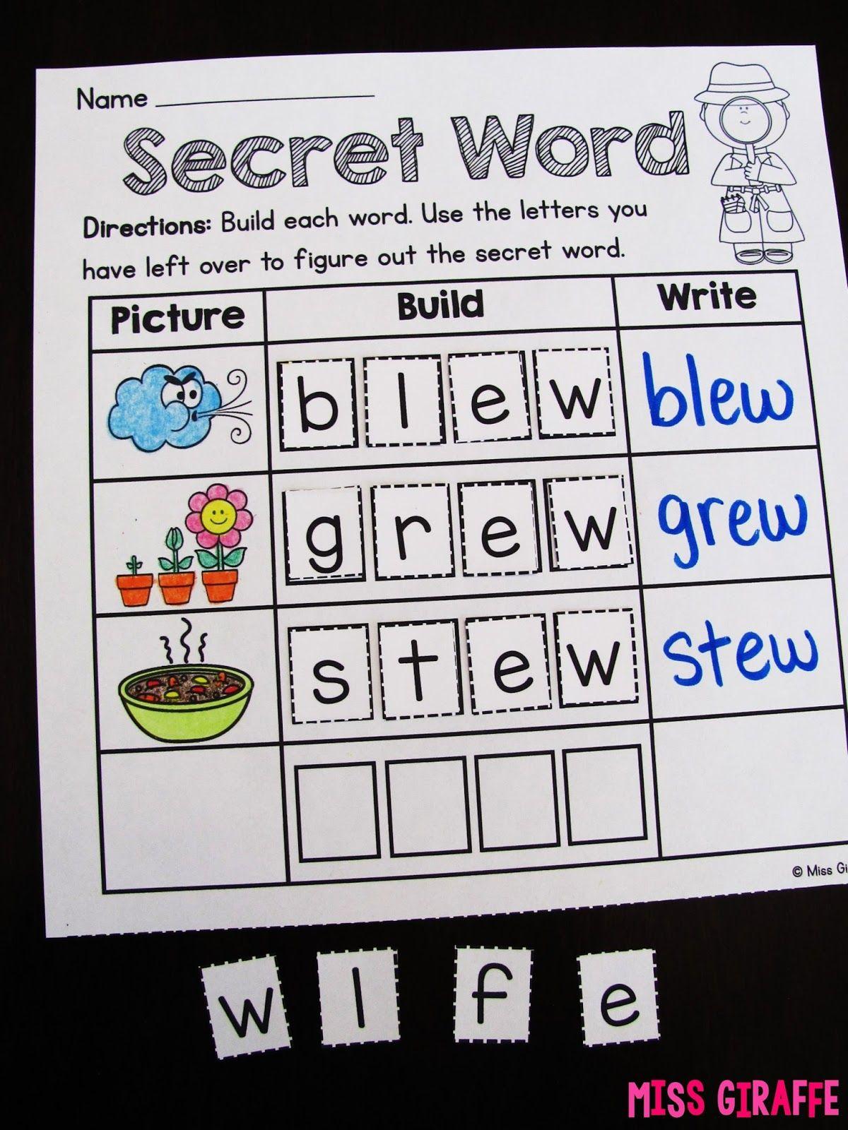 worksheet Ui Phonics Worksheets np secretwordws jpg education pinterest explore phonics worksheets games and more