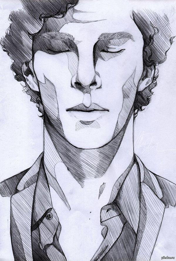 шерлок портрет карандашом: 13 тыс изображений найдено в Яндекс.Картинках