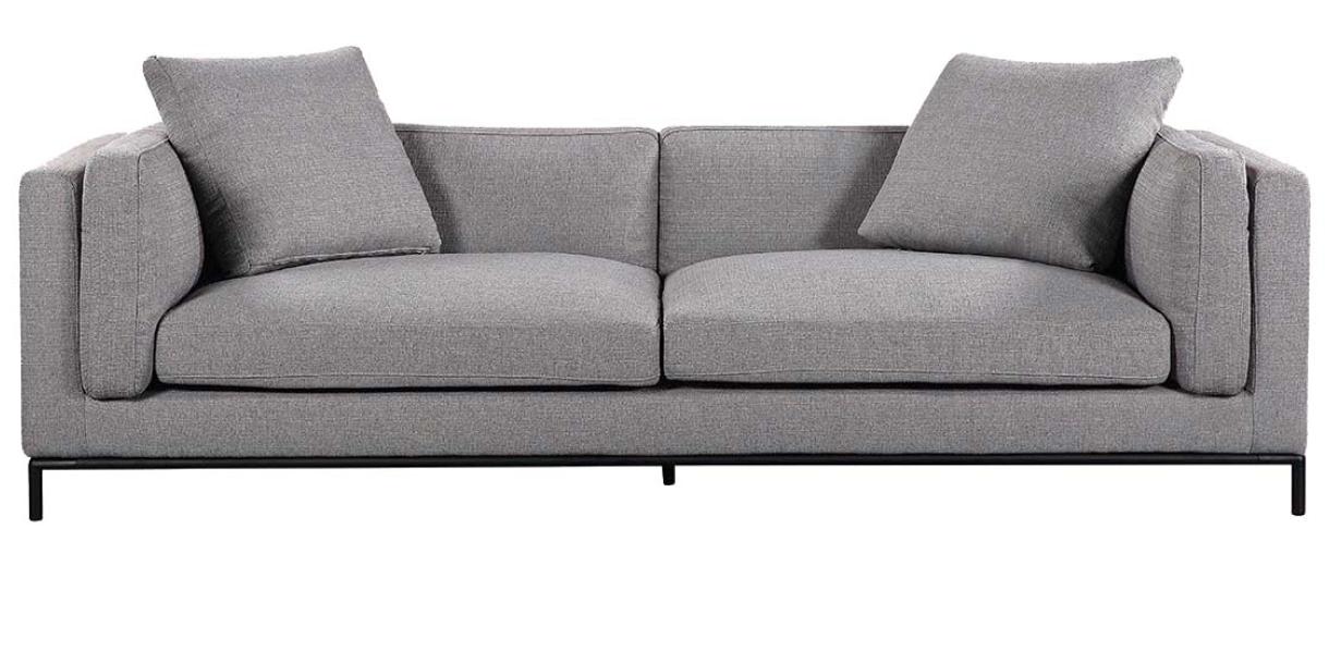 Gabin Sofa Gray Sofas Living Sofa Contemporary Modern Sofas