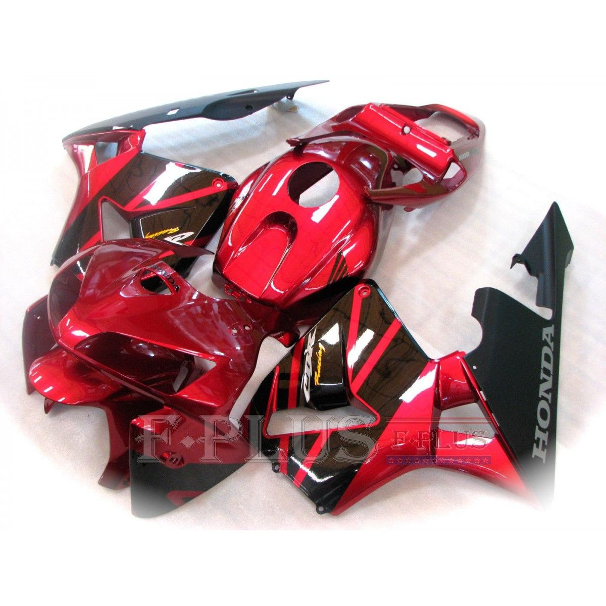 Aftermarket Fairings For Honda Cbr600rr 05 06 Red And Black Abs Kits