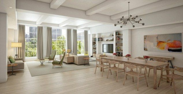 inside chelsea clintons 10m luxury fortress that stretches over an entire new york - Inside Luxury Apartments