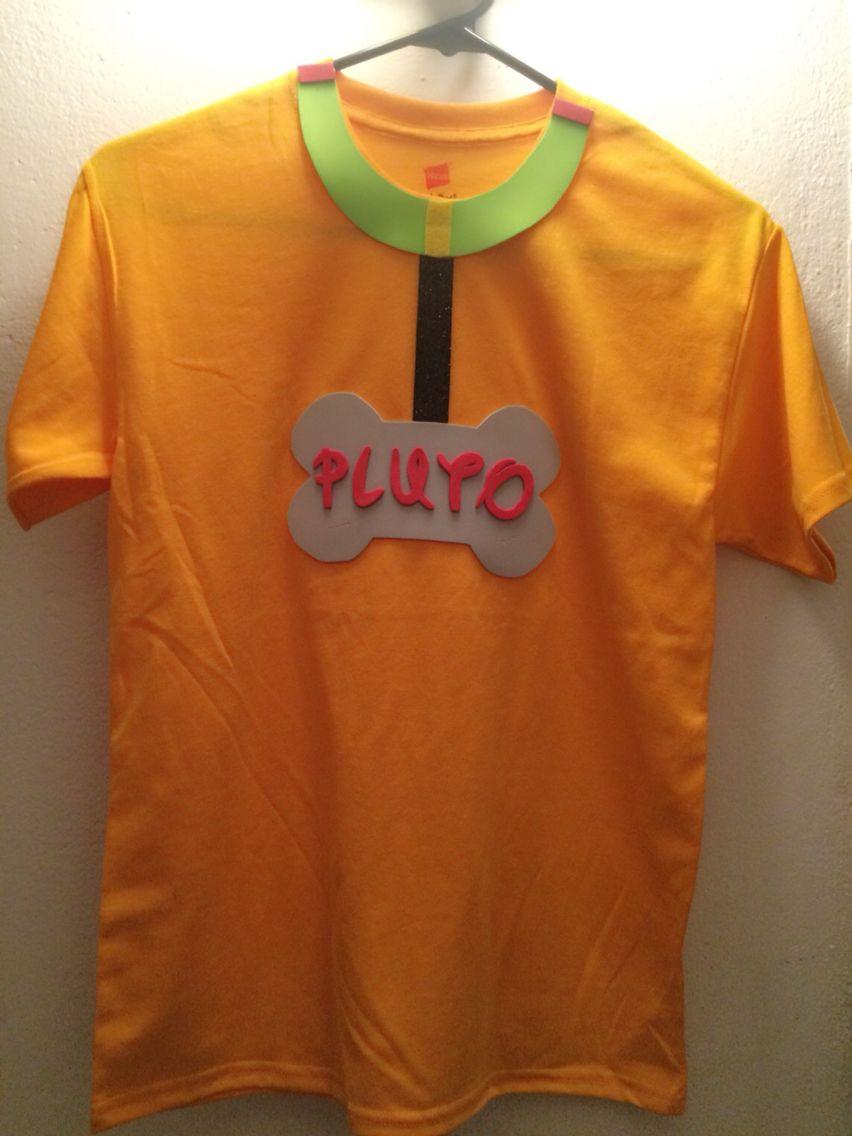 plutos tshirt so easy less than 5 fieldday handmade pluto - Homemade Halloween Shirts