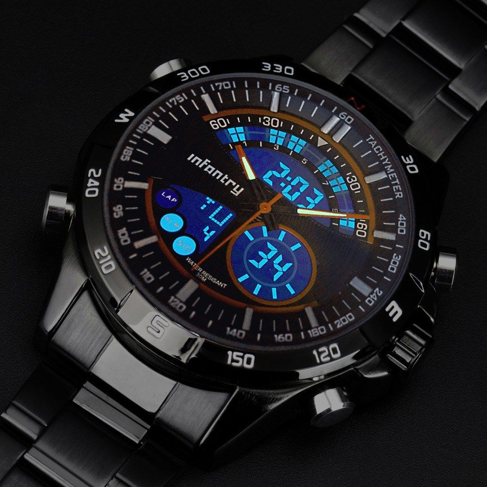 INFANTRY Mens Military Watches Top Brand Luxury Army Sport