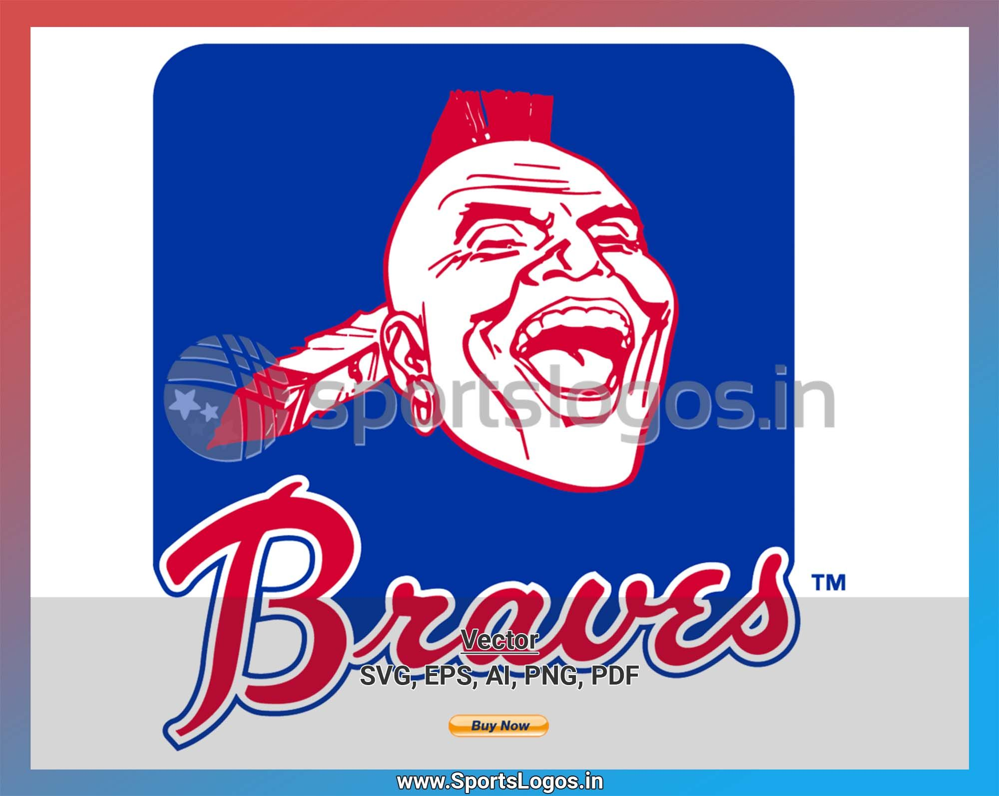Atlanta Braves Baseball Sports Vector Svg Logo In 5 Formats Spln000201 Sports Logos Embroidery Vector For Nfl Nba Nhl Mlb Milb And More Atlanta Braves Baseball Atlanta Braves Embroidery Logo