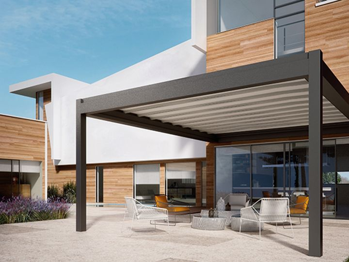 Gorgeous rendering for a retractable #patio cover we will ... on Patio Cover Ideas For Winter id=57738