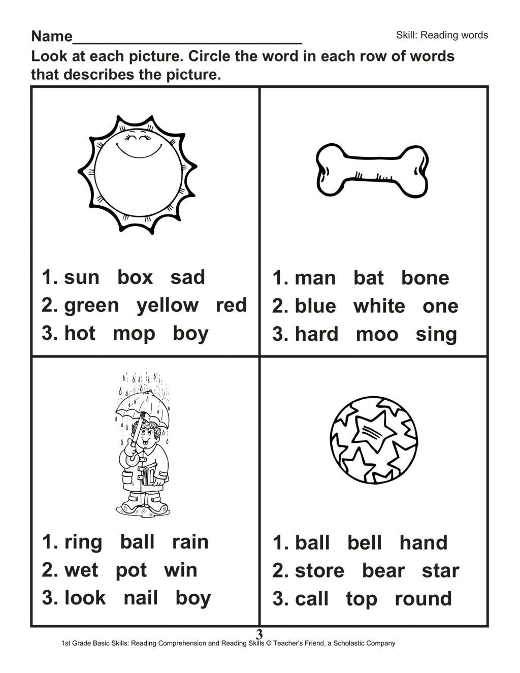 Second Grade Phonics Worksheets In 2020 1st Grade Reading Worksheets Phonics Worksheets First Grade Reading Comprehension
