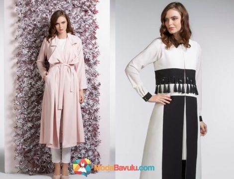 2019 Yazini Etkisi Altina Alacak Yenilikci Tesettur Giyim Markalari 201 Tesettur Markalari Fashion Coat Duster Coat