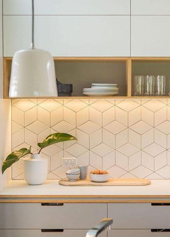 Geometric Falling Block Tile For Your Home Domino Scandinavian
