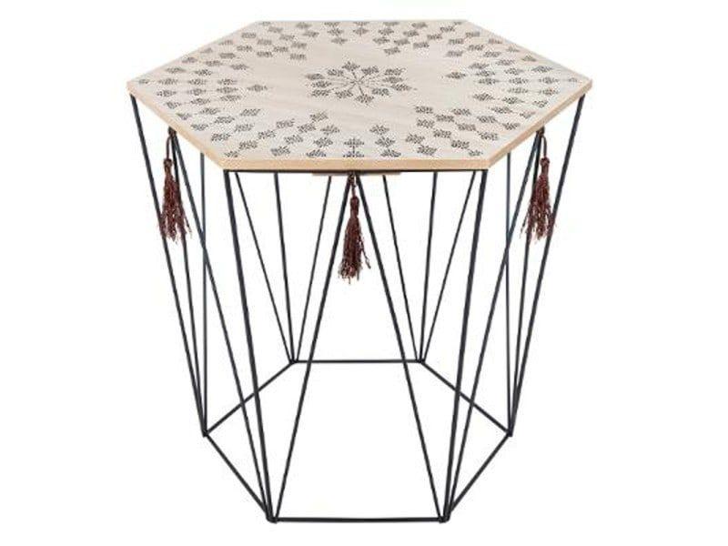 Paris Prix Table A Cafe Octogonale En Metal Table Cafe Table Cafe