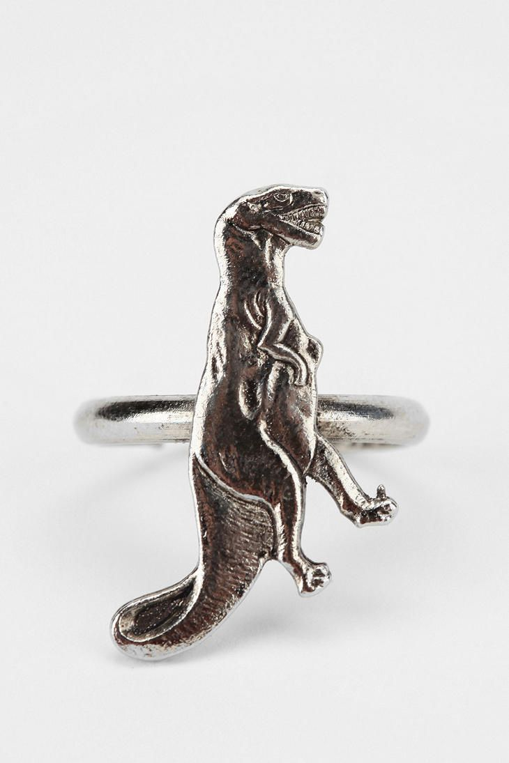Urban Renewal Vintage T-Rex Ring  #UrbanOutfitters