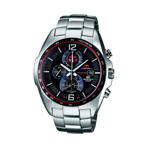 3ca3aee25e5 Casio Mens Edifice Red Bull 2013 Limited edition (300 Pieces). Edifice EFR-528RPB  Infiniti Red Bull Racing Watch Telling Time ...