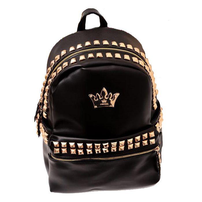Girls Metallic Gold & Studded 'Medusa' Bag (16cm), Young Versace ...
