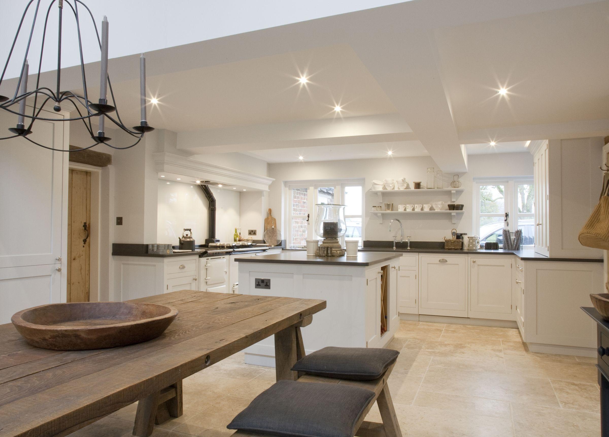Cottage Kitchen Hare Hill Hetherington Newman Kitchens