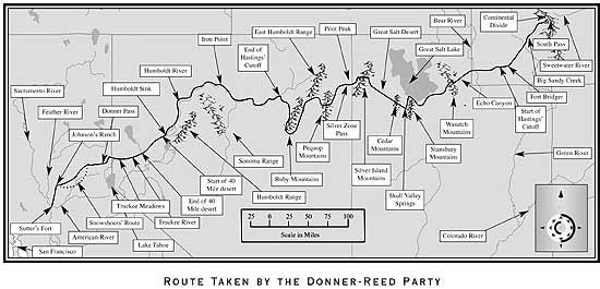 Donner party route, want to read diary Google Image Result