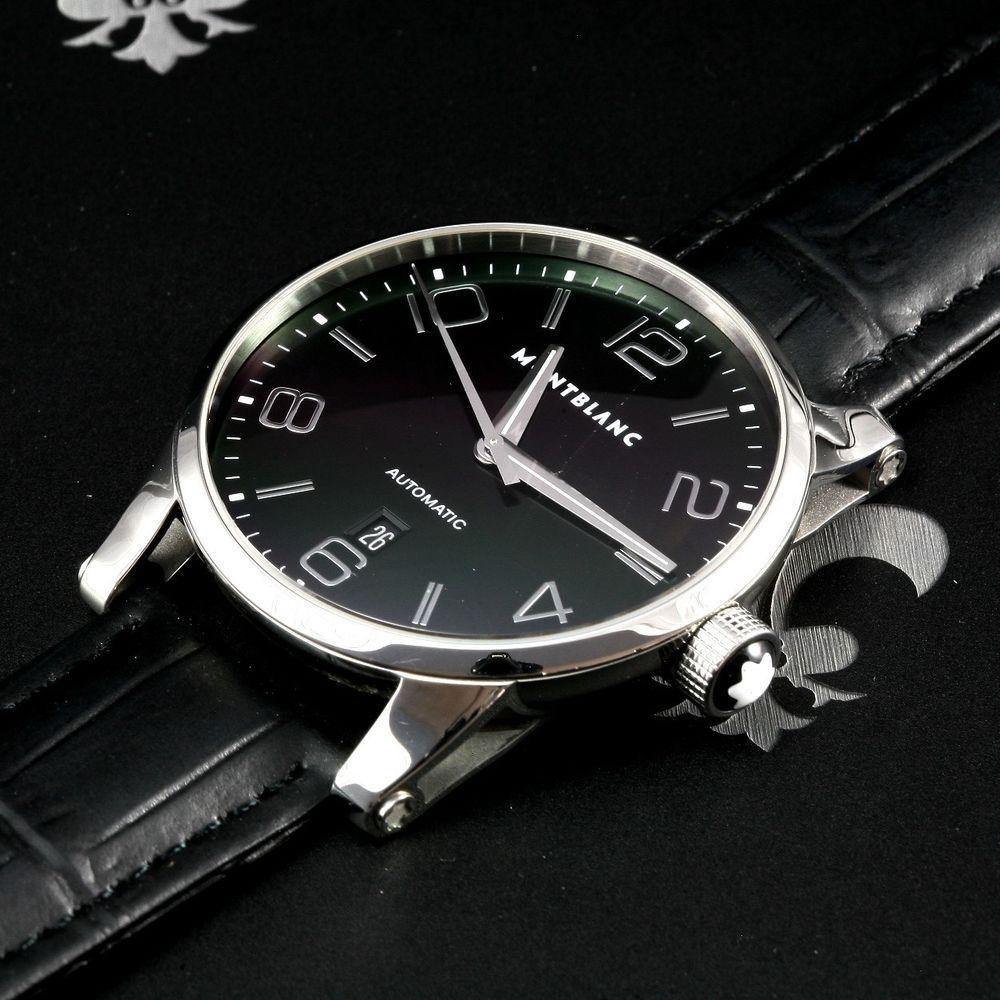 Classy Montblanc Swiss Timewalker Xl 42mm 7070 Automatic