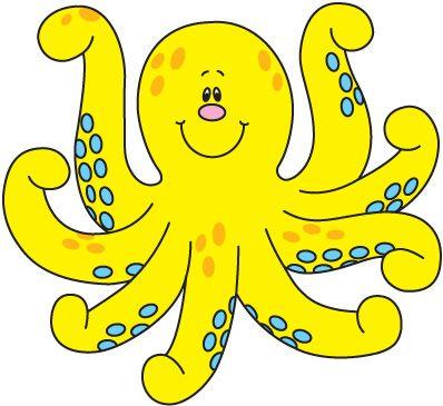 octopus free clipart kid 2 the pink octopus studio pinterest rh pinterest com Free Whale Clip Art free octopus clipart