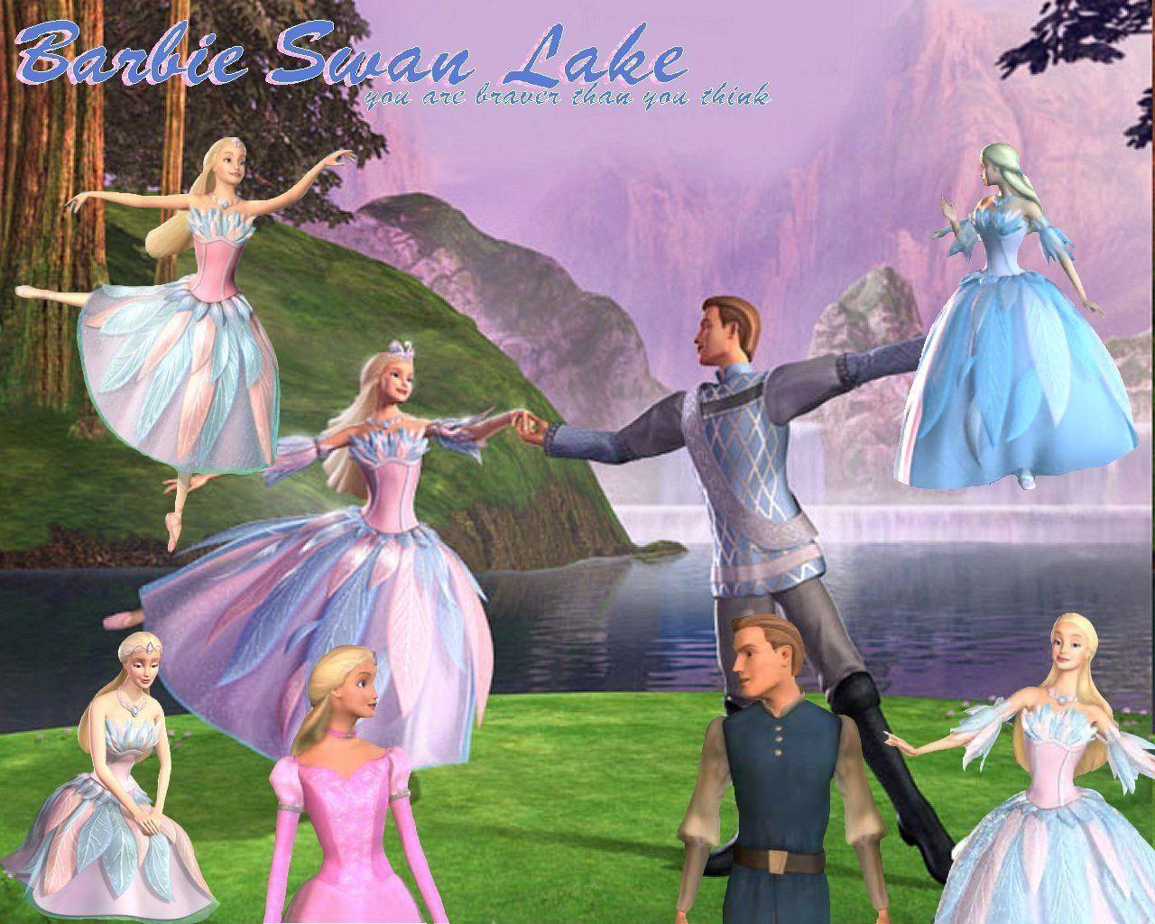 Barbie Of Swan Lake Barbie Movies Barbie Swan Lake Barbie Princess