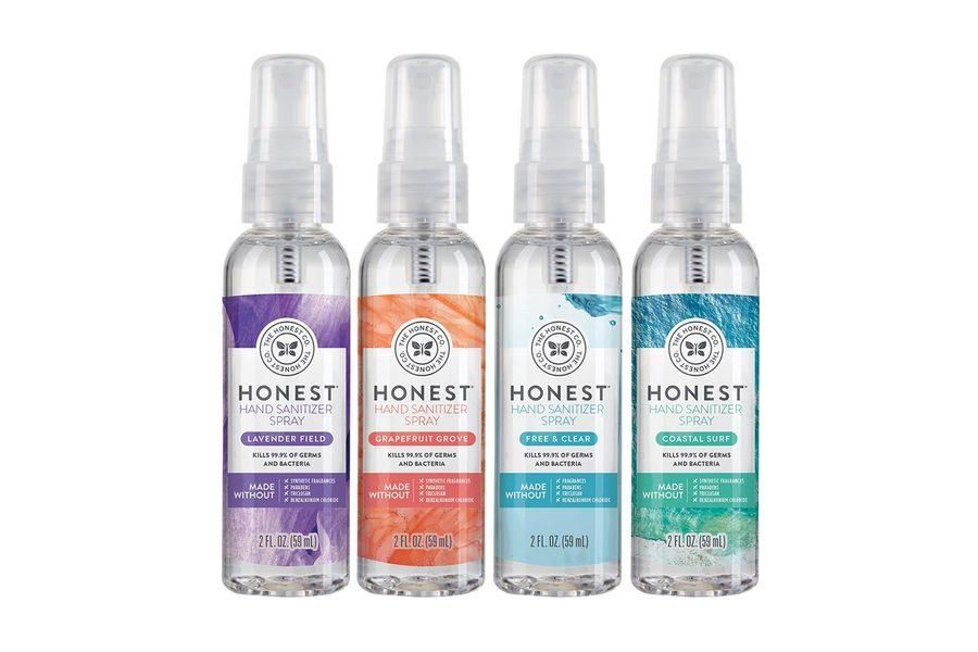 Honest Hand Sanitizer Travel Size Hand Sanitizer Travel Size