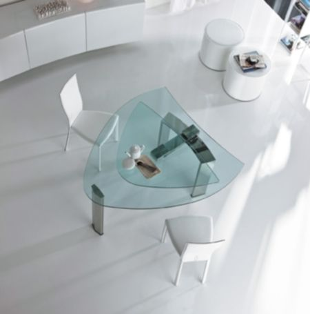 Daytona Almond Expandable Dining Table Dining Room Pinterest Awesome Expandable Glass Dining Room Tables
