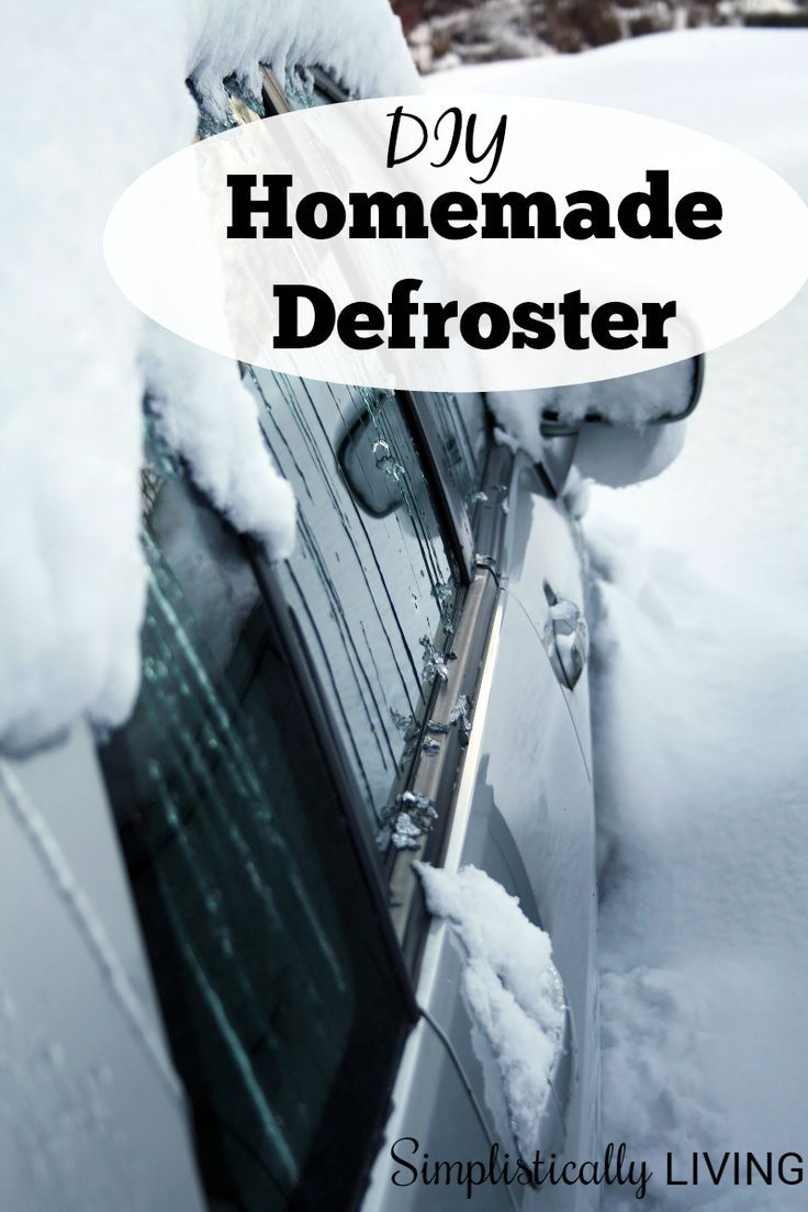 DIY Homemade Defroster a lifesaver on cold winter