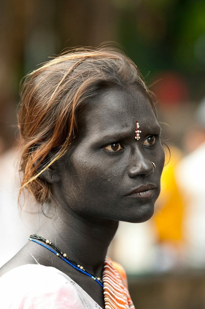 Dravidian woman, India