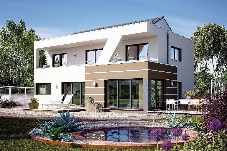 Fertighaus architektenhaus domingo modernes kubushaus von for Architektenhaus bauen