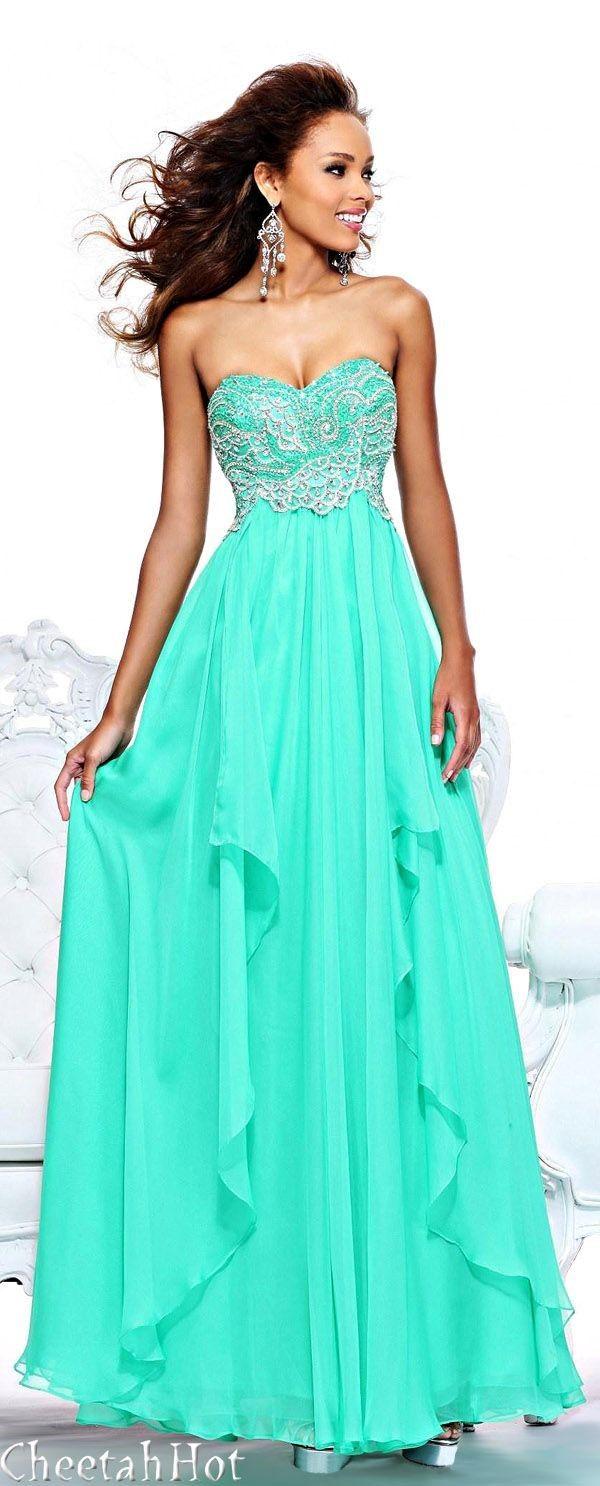 las mejores imagenes de vestidos de 15 años azul turquesa ...