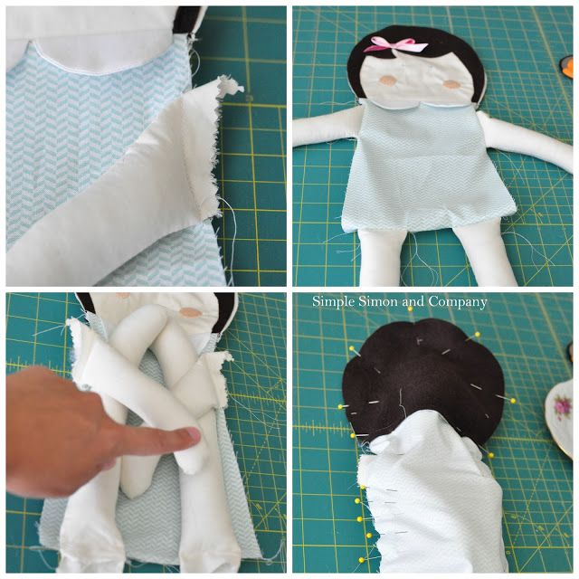 Skirting the Issue: A Doll Pattern | Simple Simon and Company 4 of 5