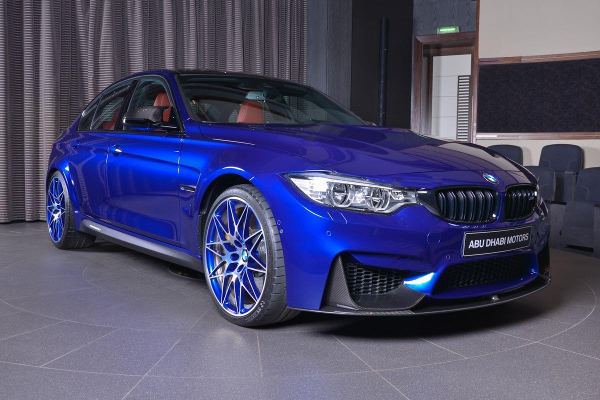 San Marino Blue BMW M Mixes It Up With Carbon Fiber And Akrapovic - Blue bmw